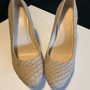 Calvin Klein Tan/Nude pumps